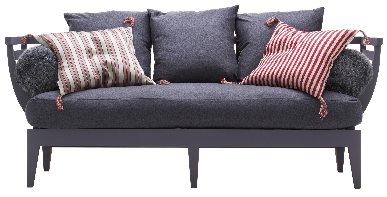 soffa med mugghållare