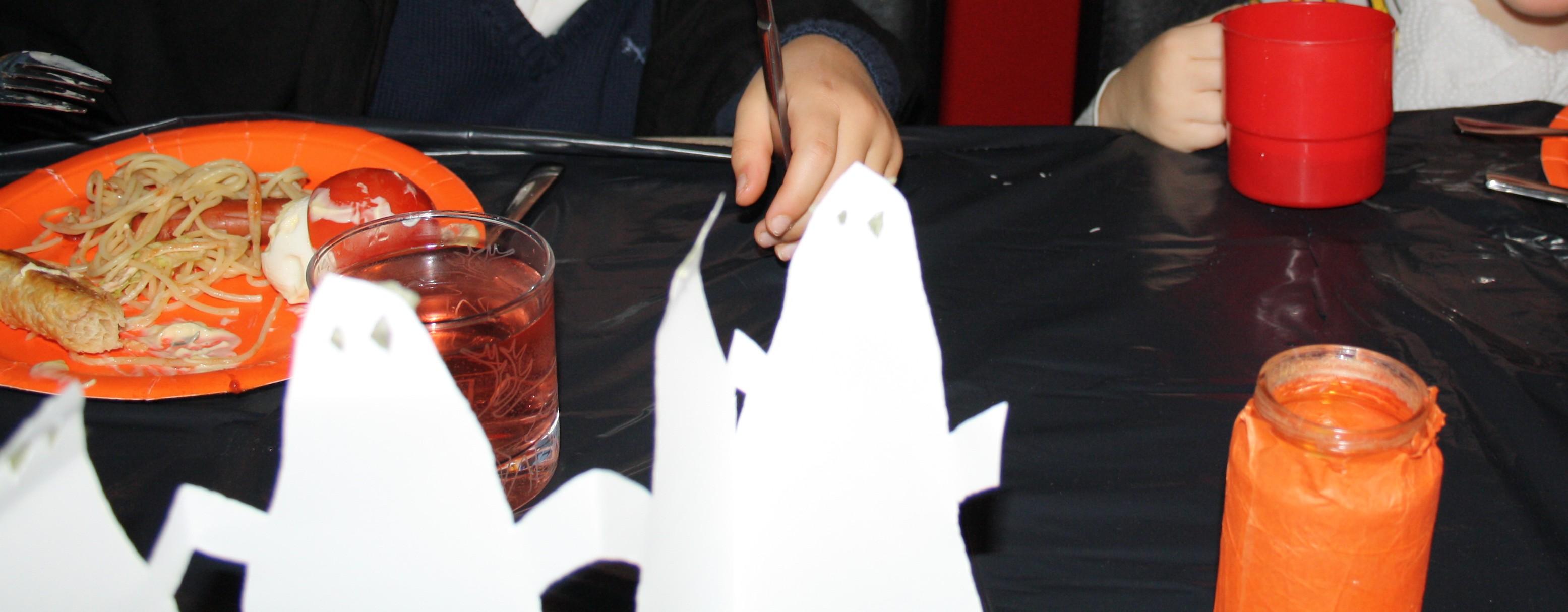 Halloween dukning
