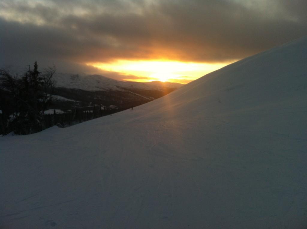 Solnedgång Bydalen