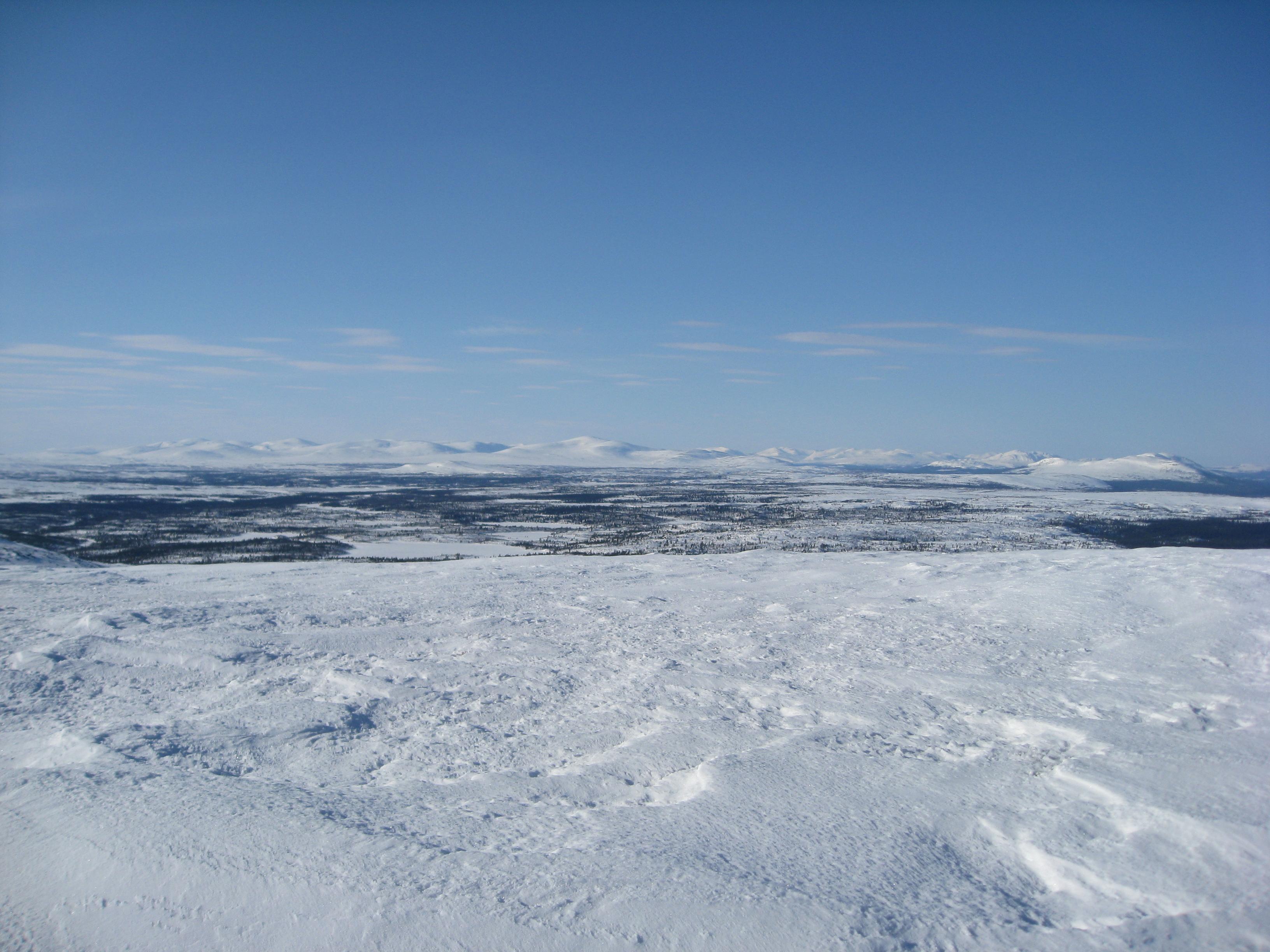 Utsikt från Västerfjället