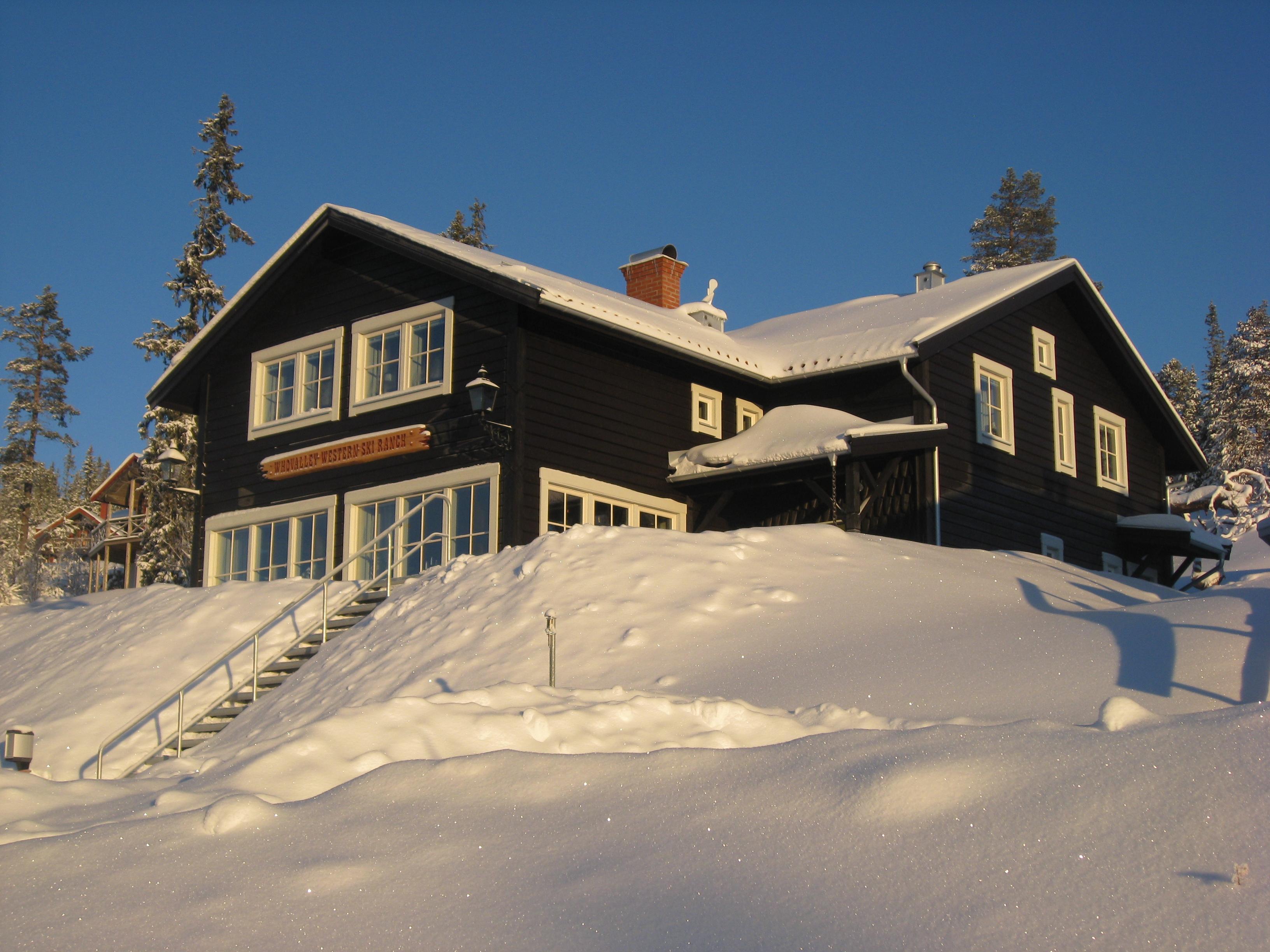 Whovalley Western Ski Ranch  utvändigt