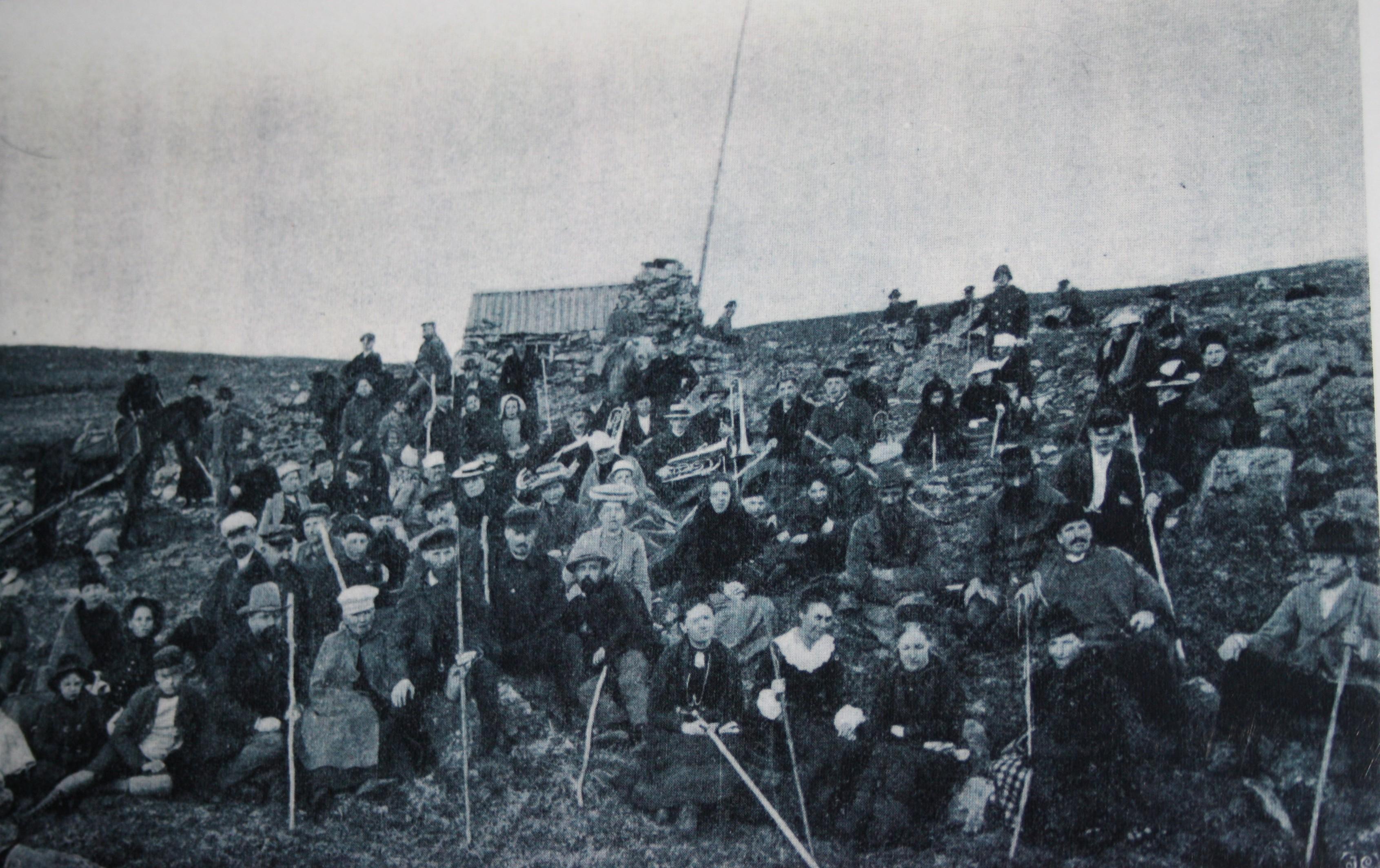 Godtemplare vid Stenhyddan