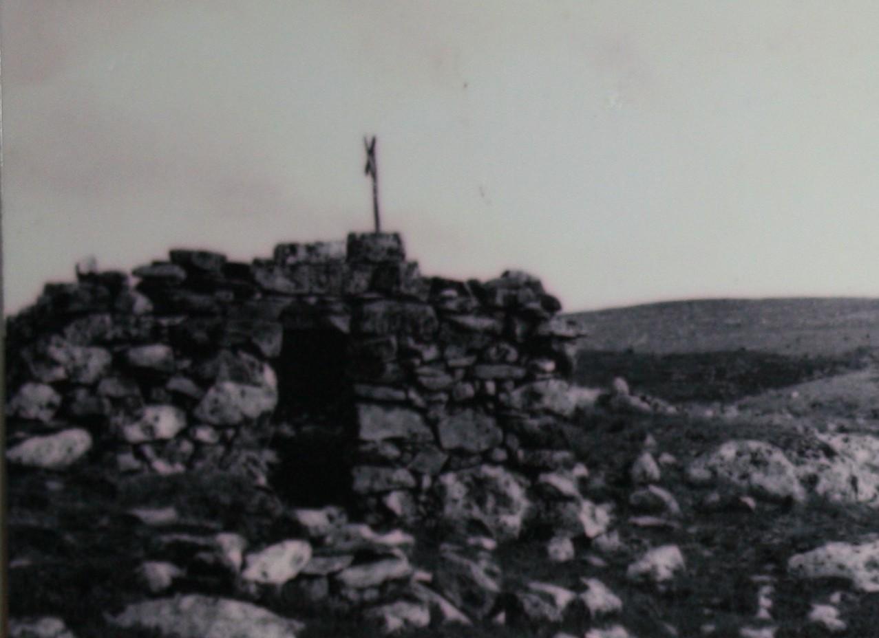 Stenhyddan i ruiner