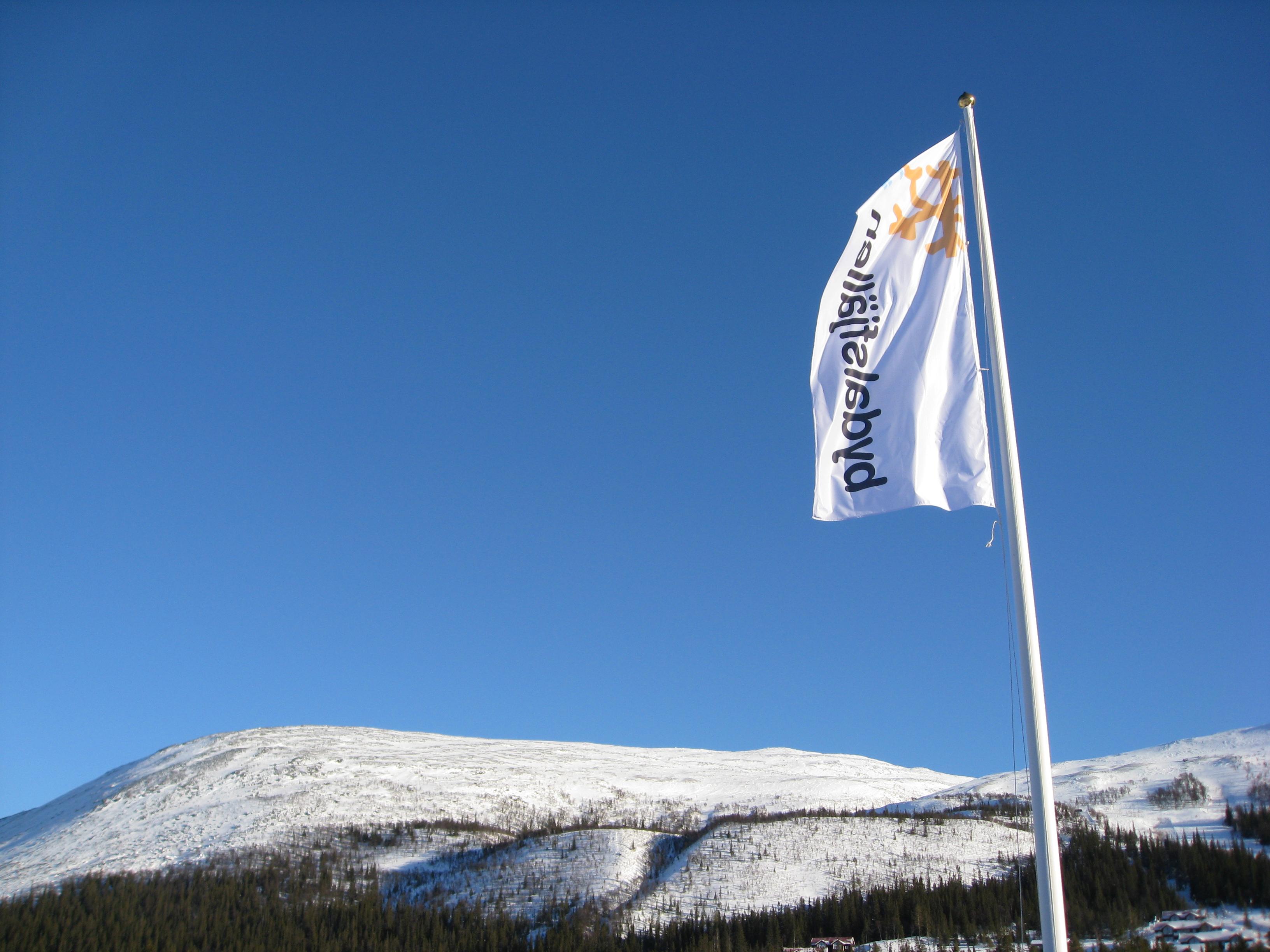 Bydalen flagga